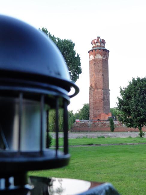 Wieża zamkowa… bez zamku